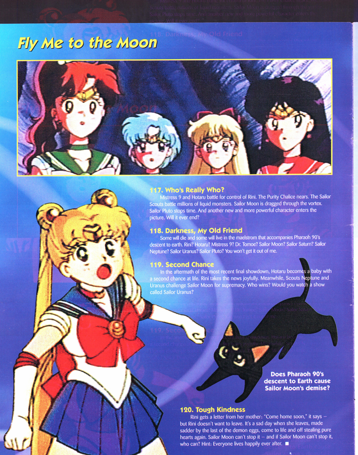 Pojo's World: Sailor Moon Special Edition – Miss Dream