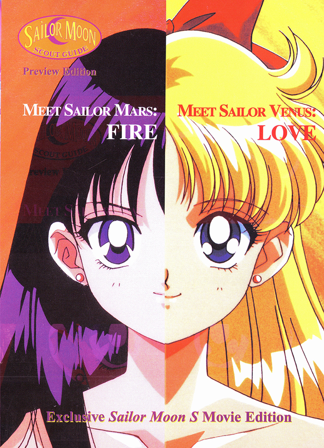 sailor moon scout guide   preview edition sailor moon s