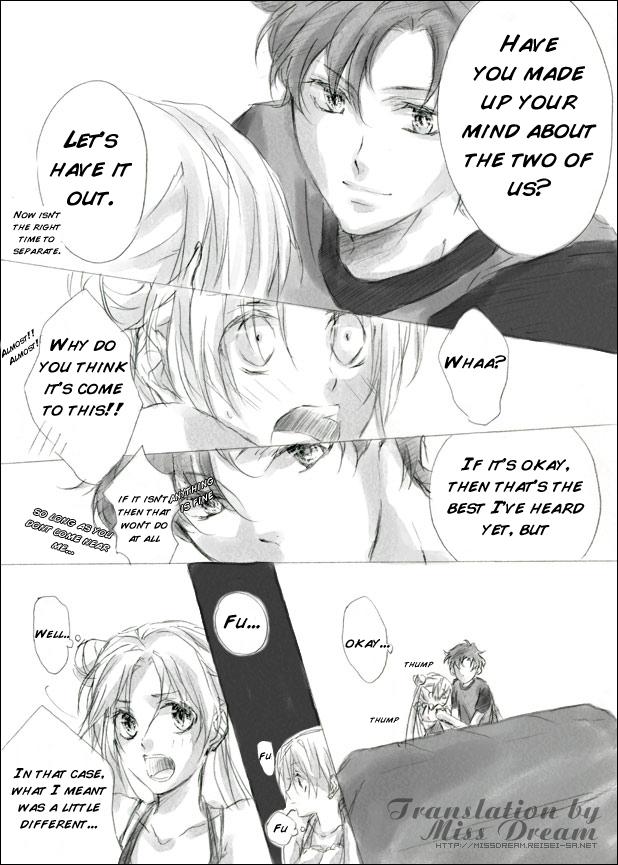 Seiya and Usagi Doujinshi
